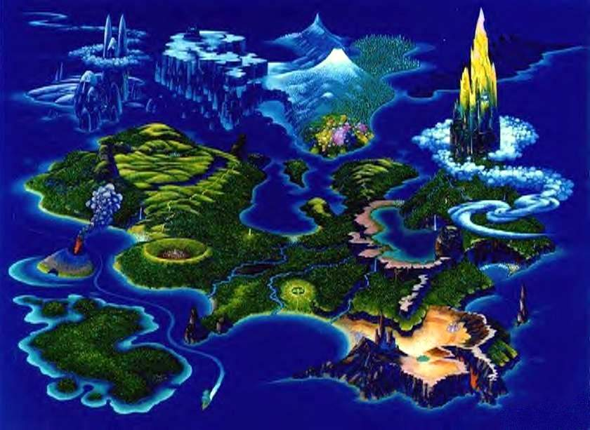 Post awesome adventure game maps | NeoGAF on